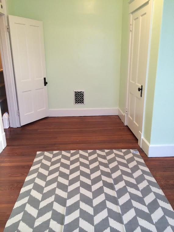 rug with doors
